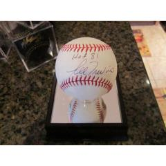 Lee Trevino Autographed '09 World Series Baseball